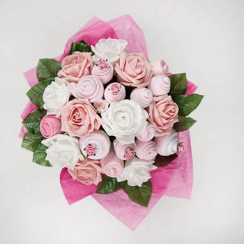 Baby Clothes Bouquet - Baby Girl