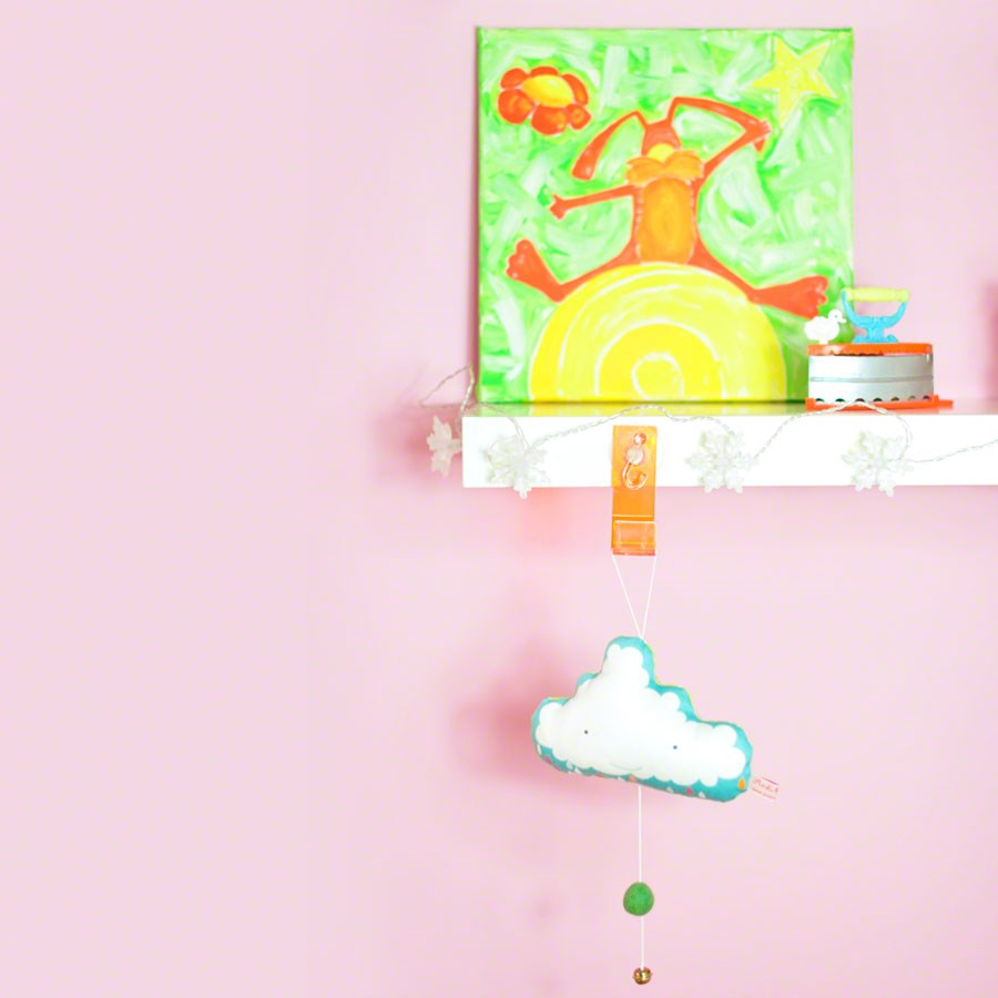 baby mobile for nursery room * cloud