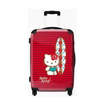 Hello Kitty Red Surf Cabin Luggage for Girls