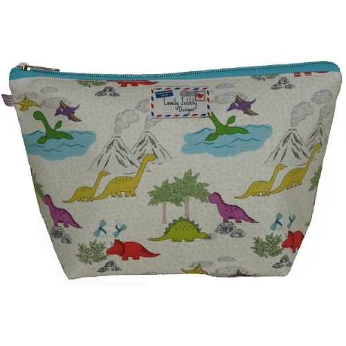 Dinosaur Wash Bag for Girls and Boys