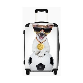 Dog and Ball Suitcase (cabin Luggage)