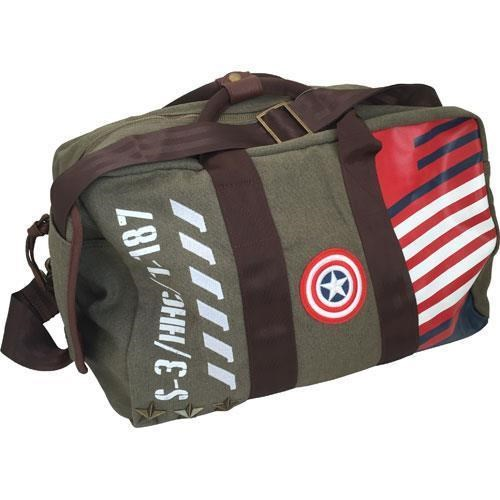 Marvel Vintage Military Army Kit Bag and Sleepover Bag