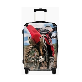 Moto Sport Childrens Suitcase by Murano