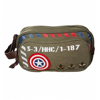 Vintage Military Army Toiletry Bag