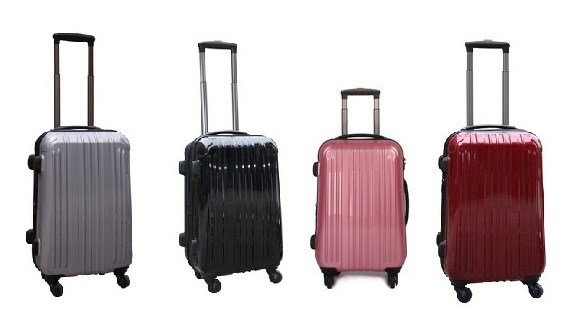 "21"" Expanding Suitcase on Wheels"