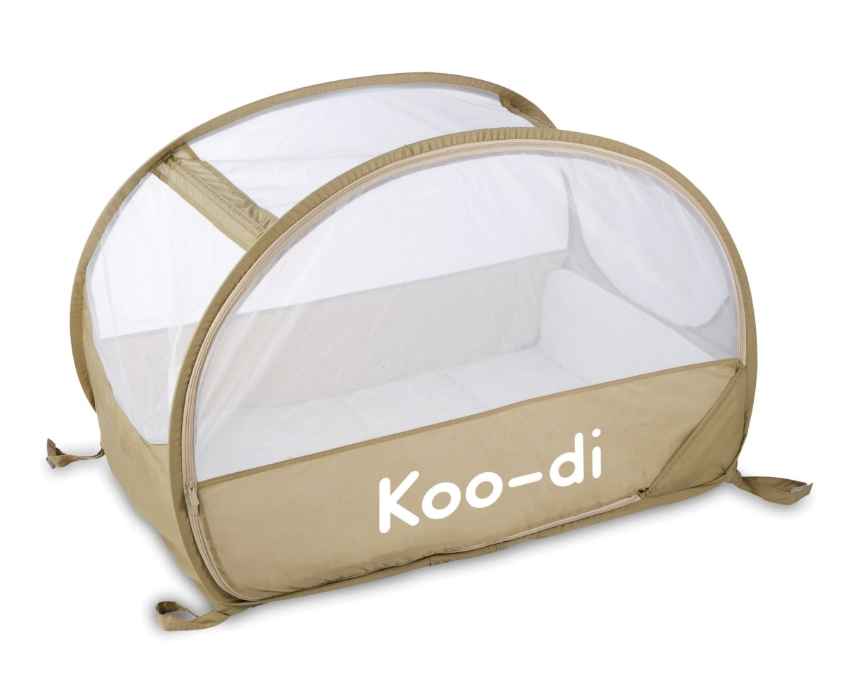 Koo-di Pop Up Travel Bubble Cot - Cafe Creme (KD111/13)