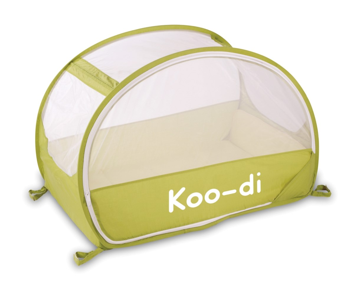 Koo-di Pop Up Travel Bubble Cot - Lemon & Lime (KD111/34)