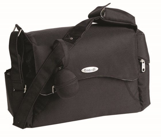 Koo-di Messenger Bag - Black (KD013/01)