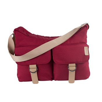 Koo-di Hobo Shoulder Bag - Raspberry (KD016/29)