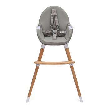 Koo-di Duo Wooden High Chair - Grey (KD430/02)