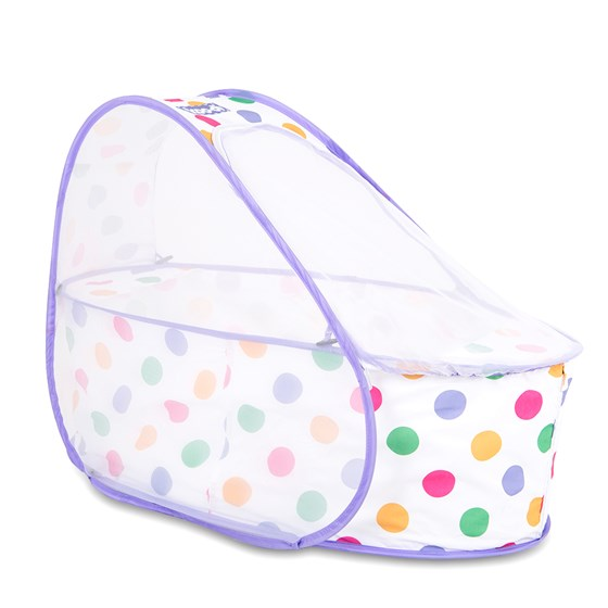 Koo-di Pop Up Travel Bassinet - Polka Dot (KD110/12)