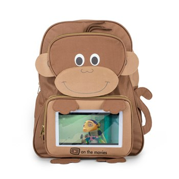 On the Movies Monkey bag complete with tablet