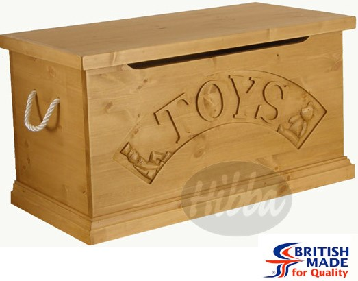 "Hibba Classic ""Prince George"" Toy Box"
