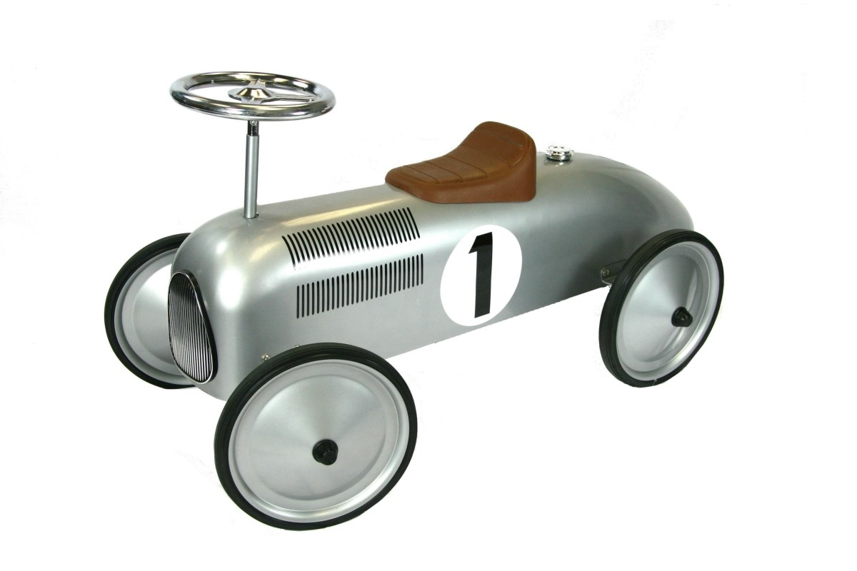 Classic Metal Racer in Silver