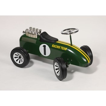 Classic Green F1 Ride on Racer
