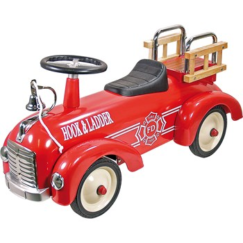 Speedster Ride on Fire Engine