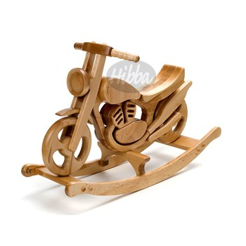 Mirage Wooden Rocking Bike