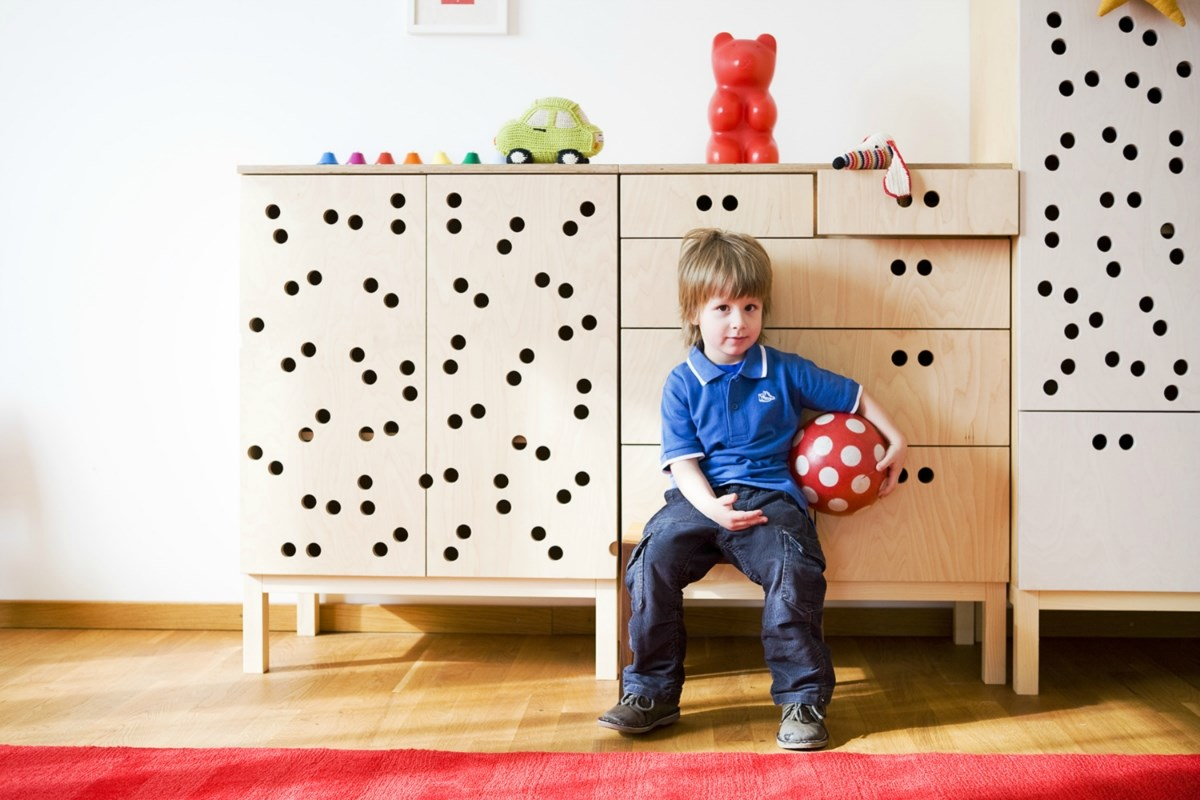 SIXKID children's furniture: small closet