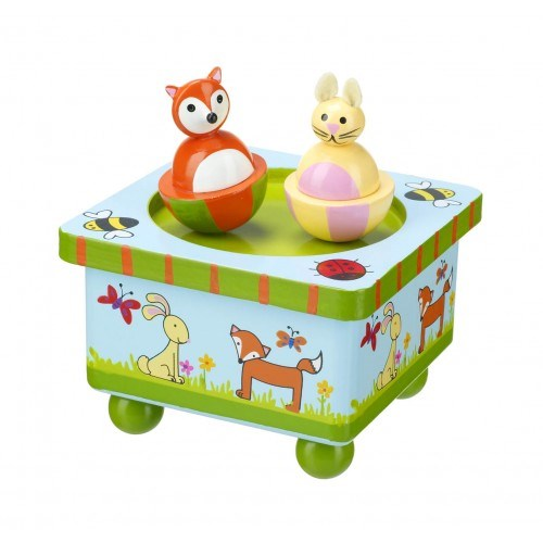 Woodland and Friends Music Box