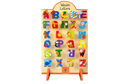 Animal Wooden Letters A-Z