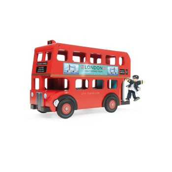 London Bus with Driver