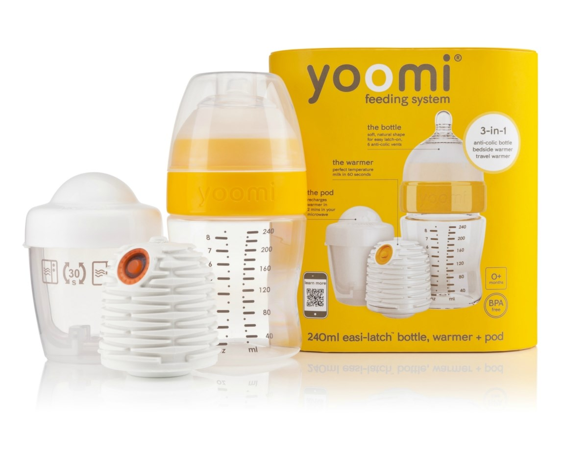 Yoomi - First Self Warming Baby Bottle