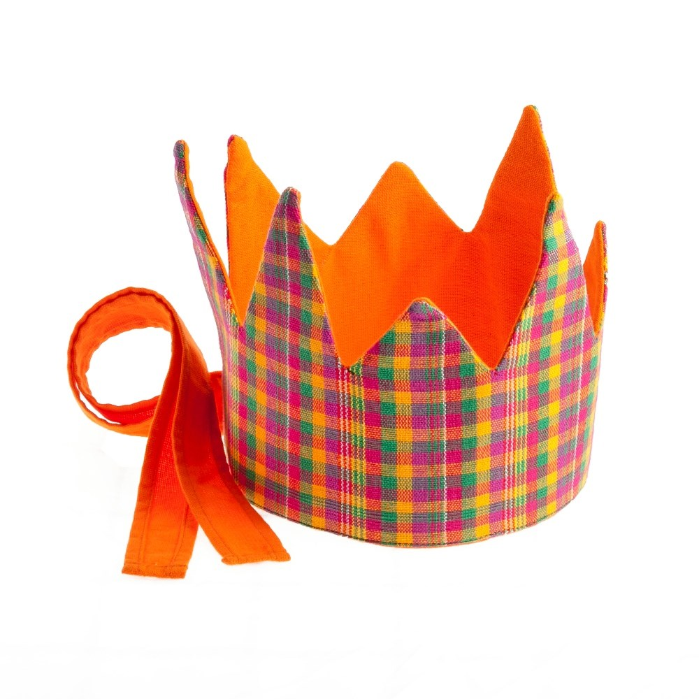 Reversible Plaid Crown