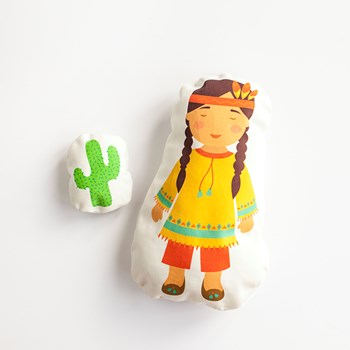 Native American Doll Sewing Kit