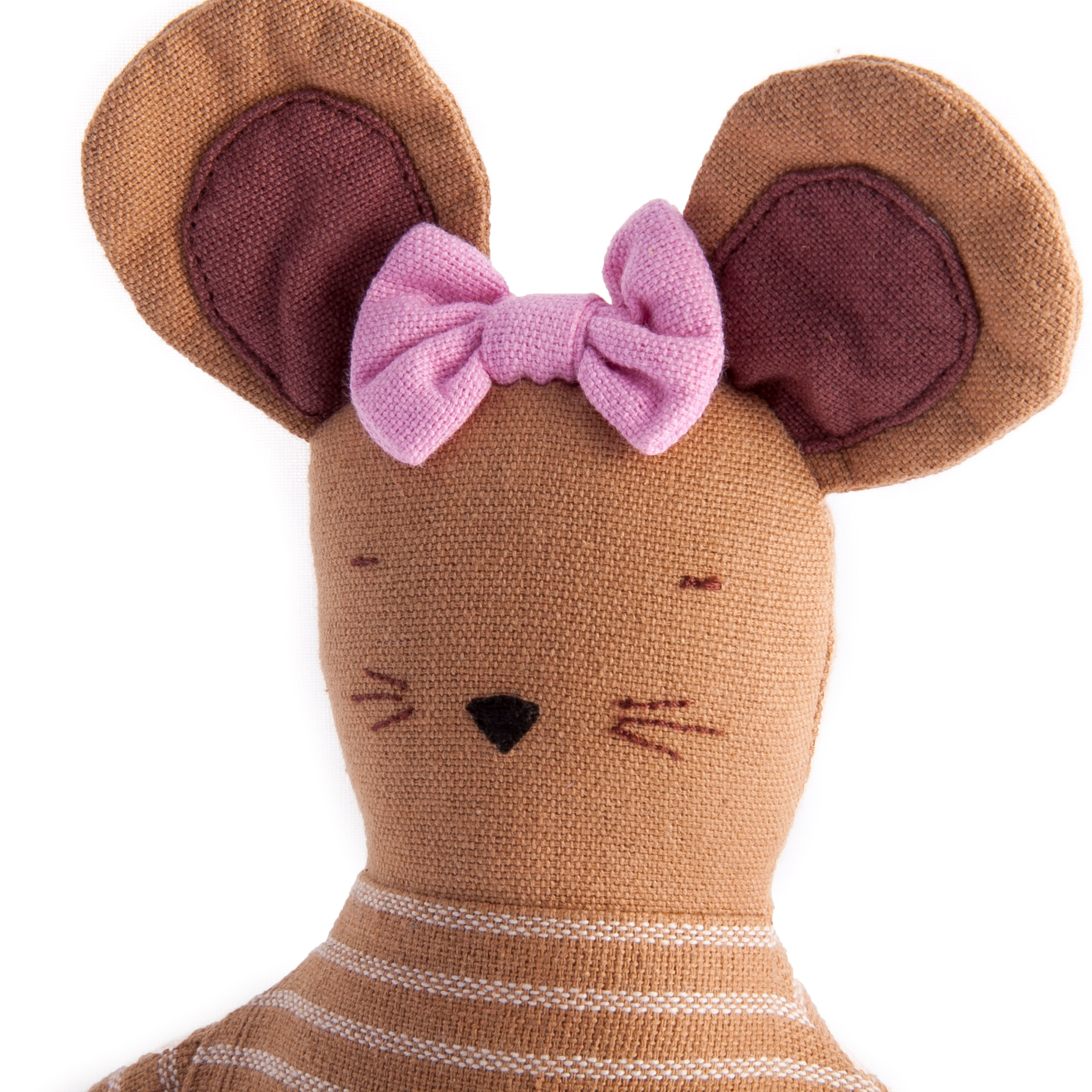 Hazel The Mouse Fair Trade Toy