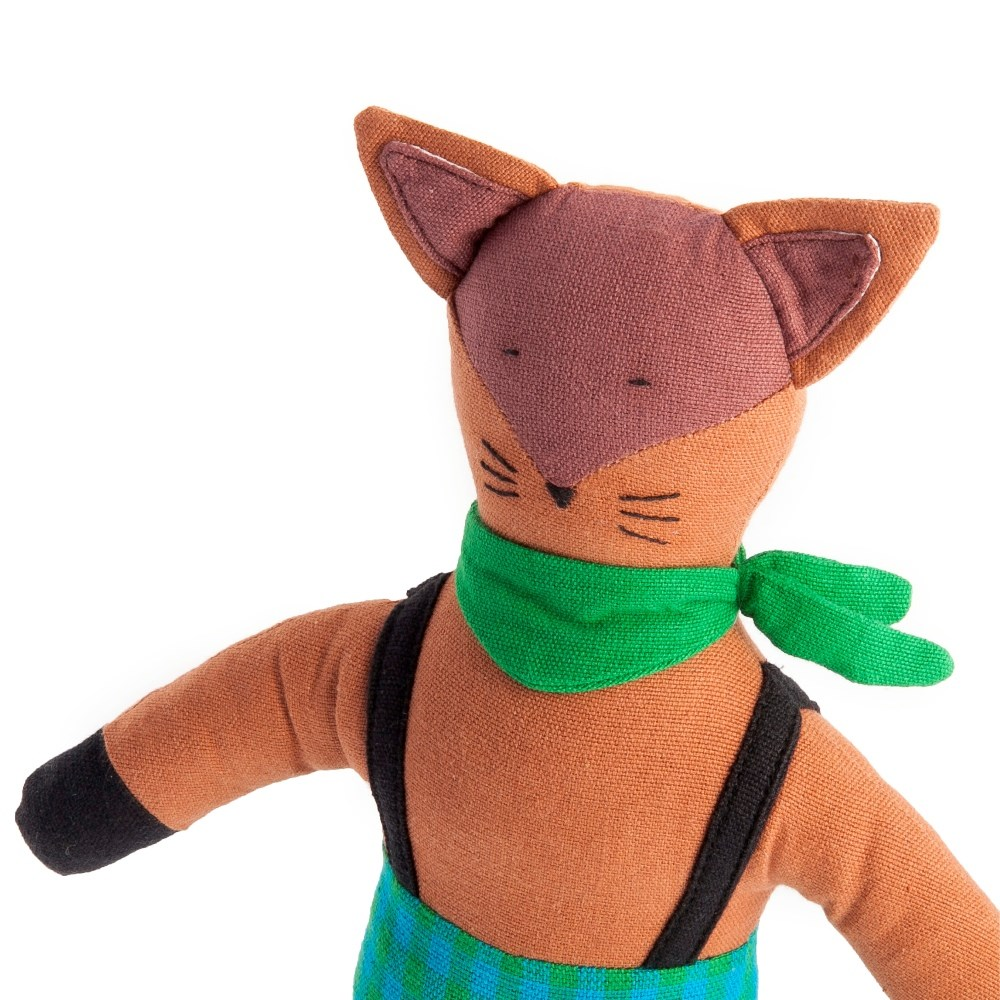 Cedar The Fox Fair Trade Toy
