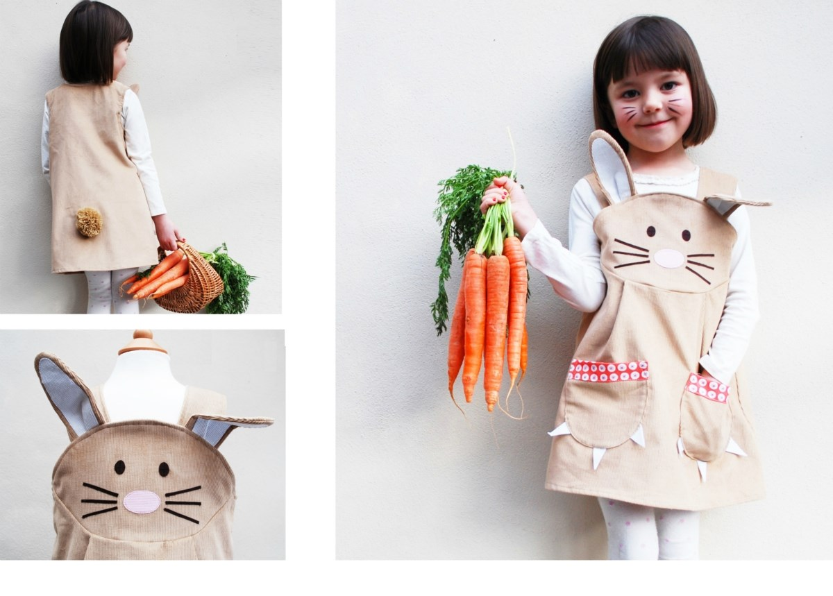 Girls Bunny Dress