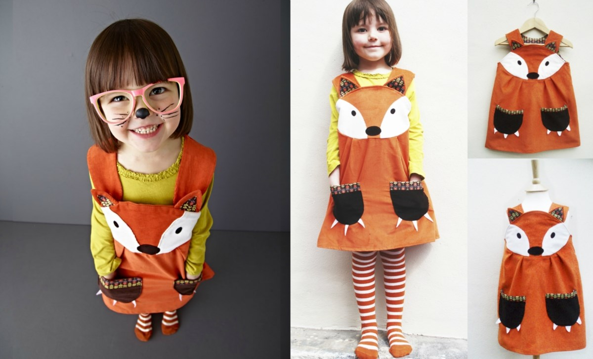 girls fox play dress