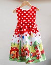 Gnome Girls Party Dress