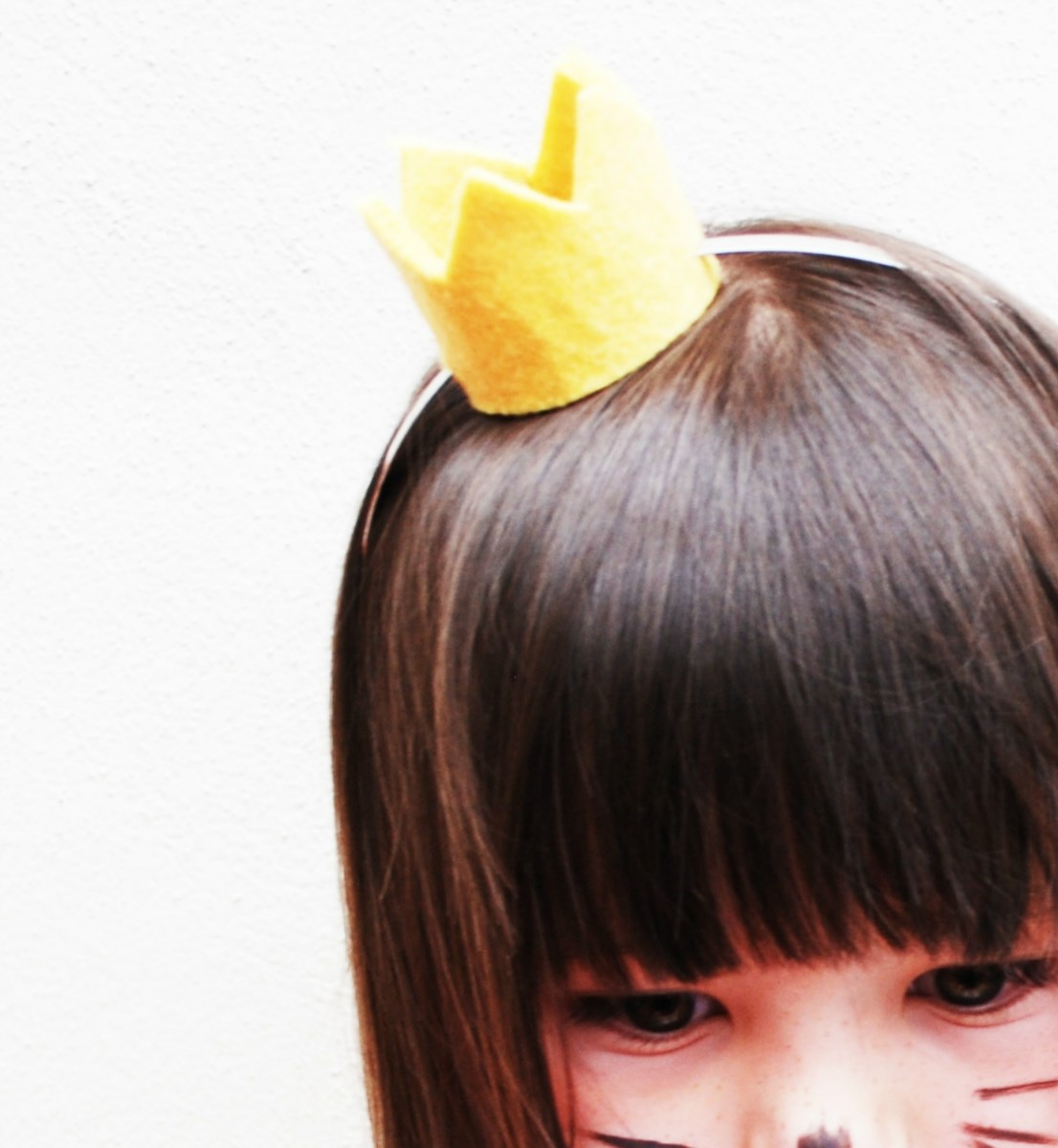 Wild Things Max Felt Crown Tiara