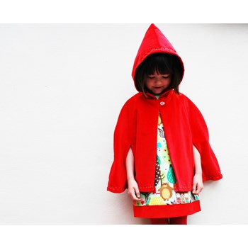 Girls Red Riding Hood Cape