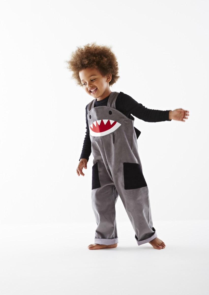 shark dungaree dress up