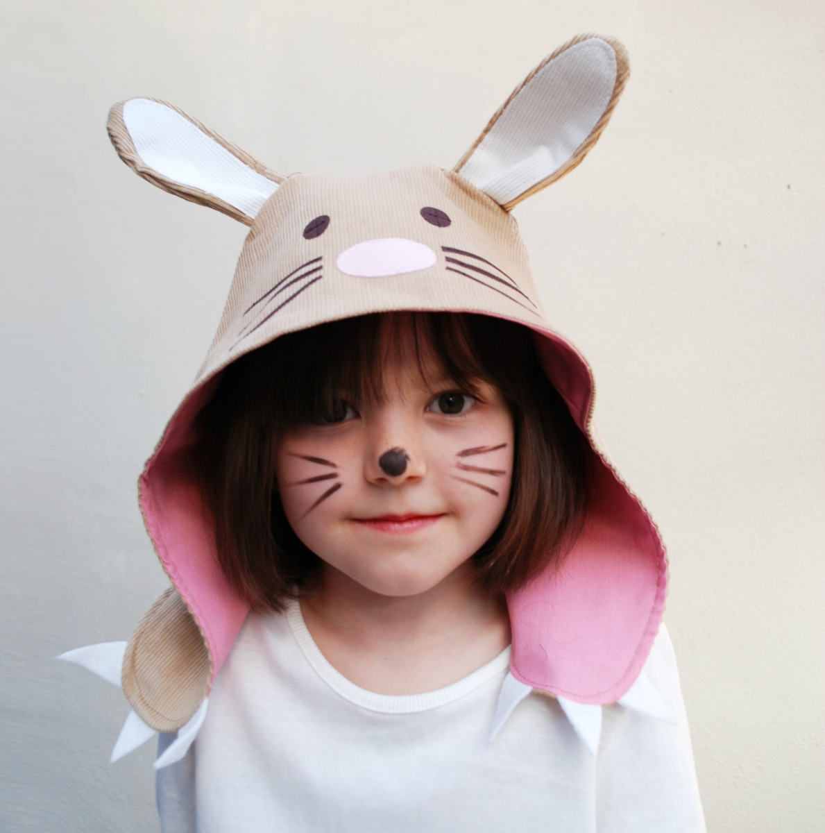 Easter Bunny Kids Dress Up Hat In Cotton With Cute Loubilou
