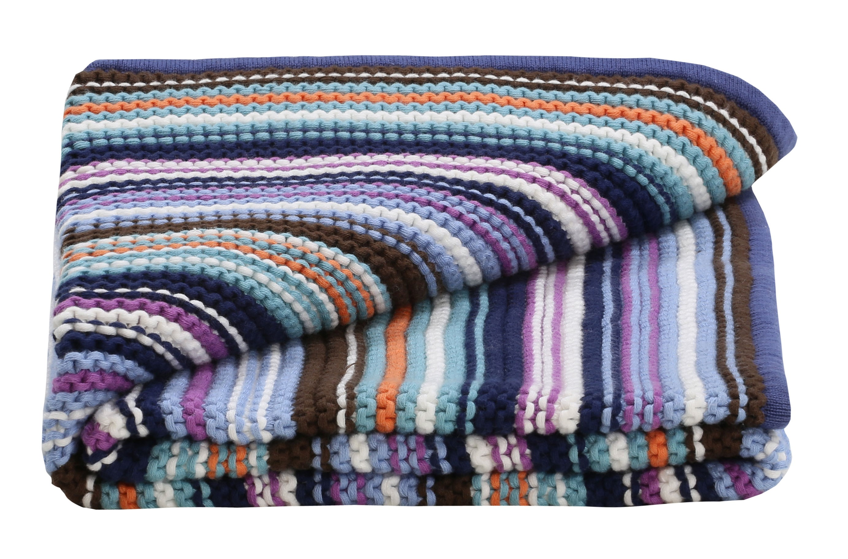 Baby Boys Knitted Blanket