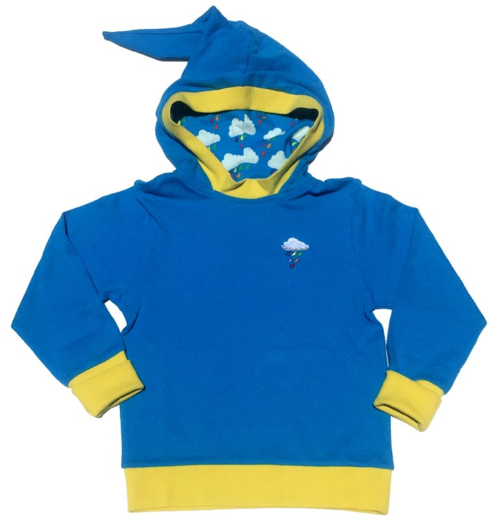 Drop Pixie Style Hoodie. 100% Organic Cotton