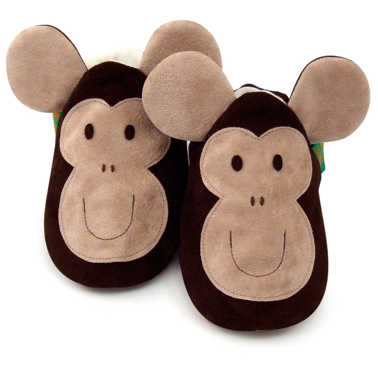 Soft Baby Shoes - Monkey