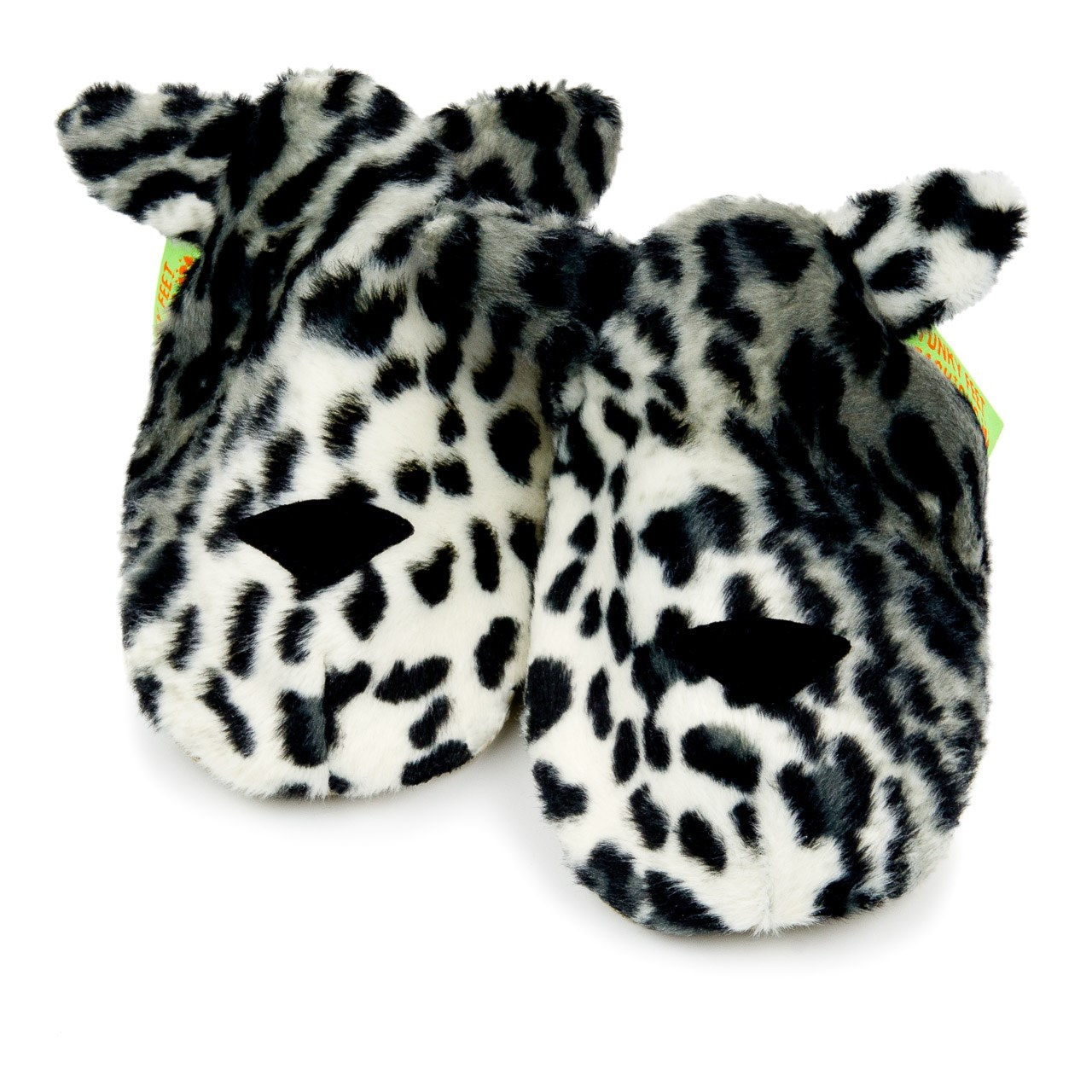 Soft Baby Shoes - Snow Leopard