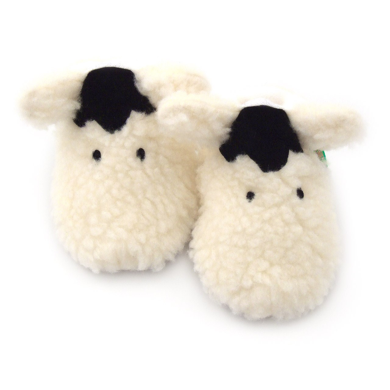 Soft Baby Shoes - Shaggy Sheep