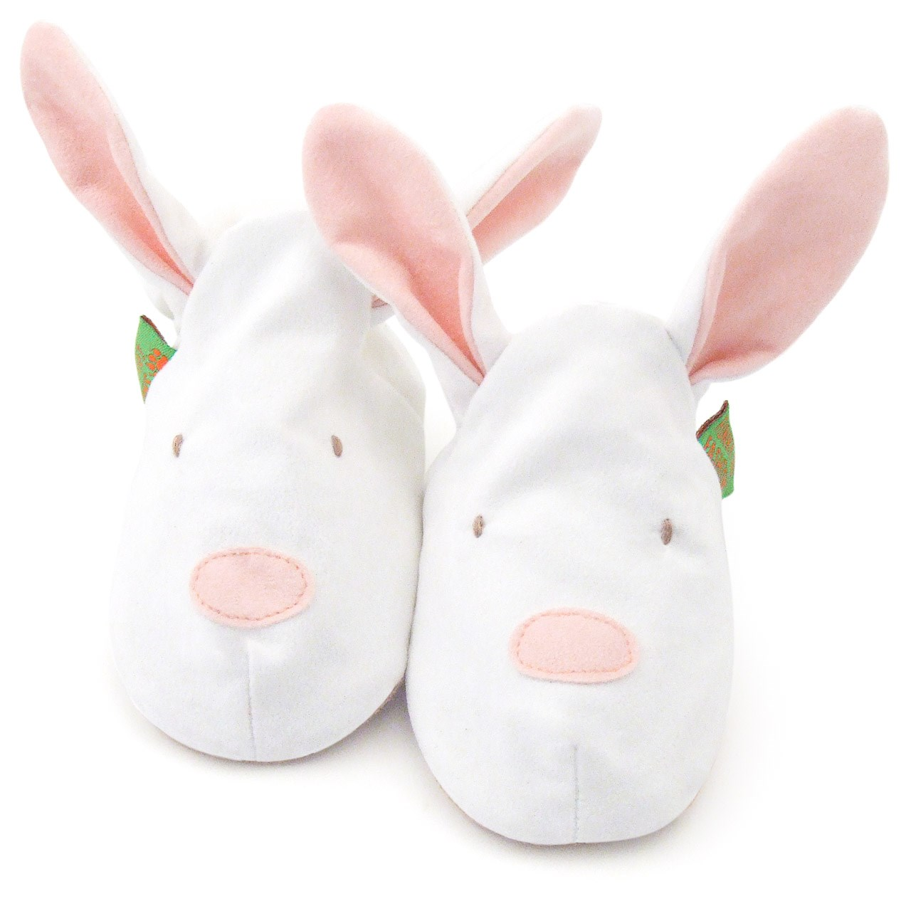Soft Baby Shoes - Pink Bunny