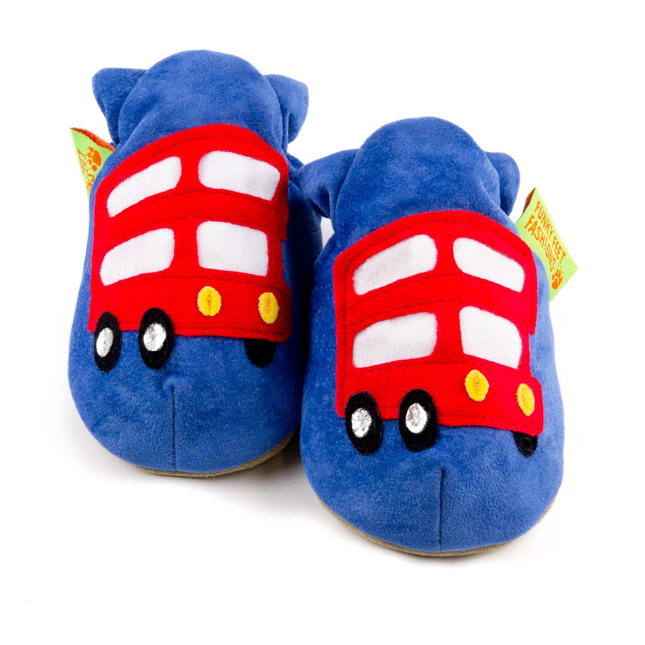 Soft Baby Shoes - London Bus