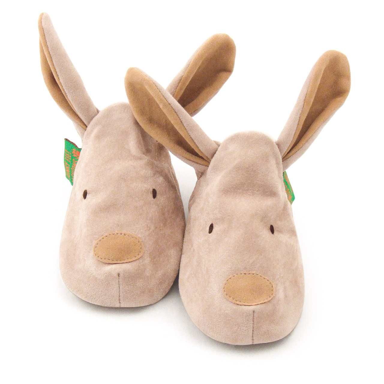 Soft Baby Shoes - Beige Bunny