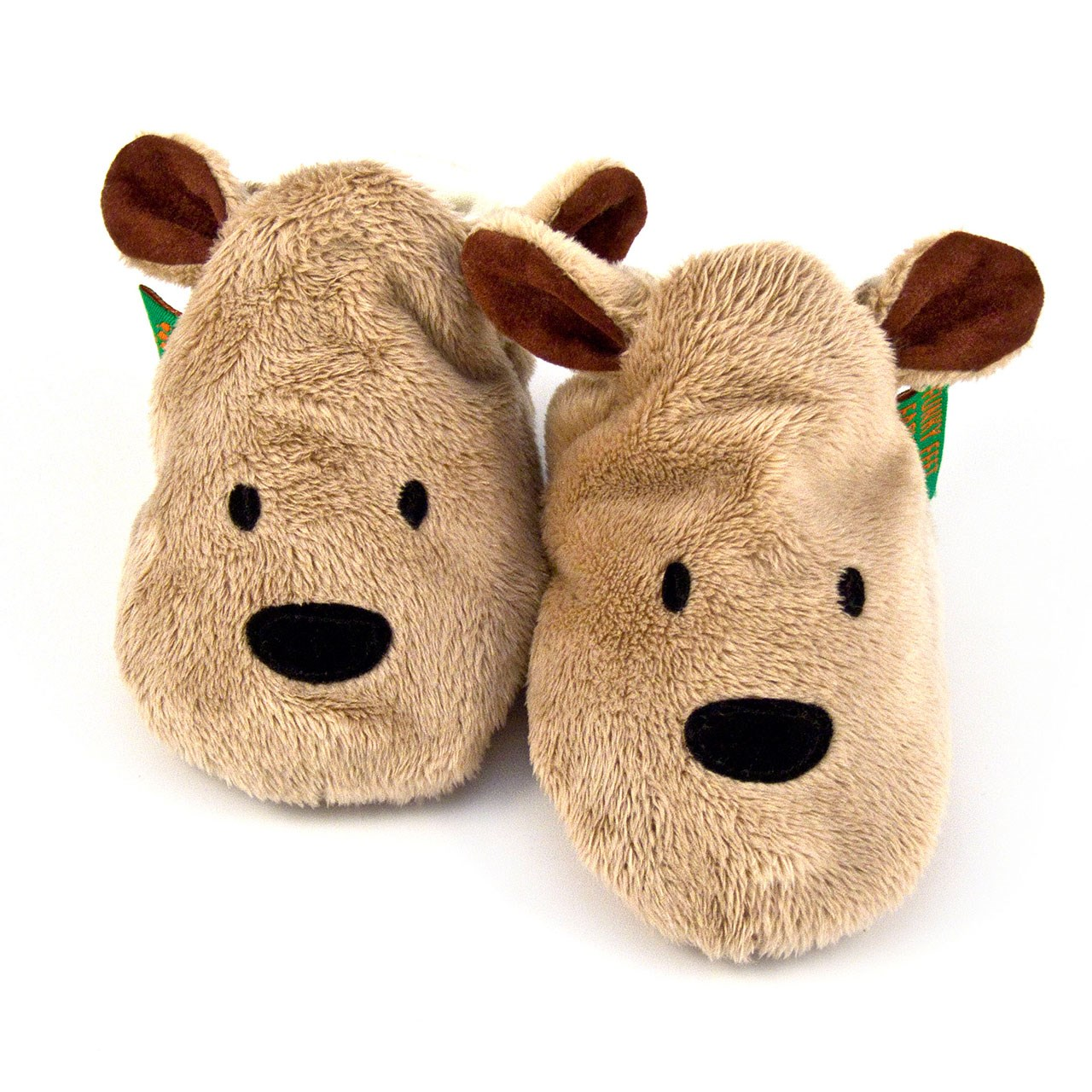 Soft Baby Shoes - Brown Bear