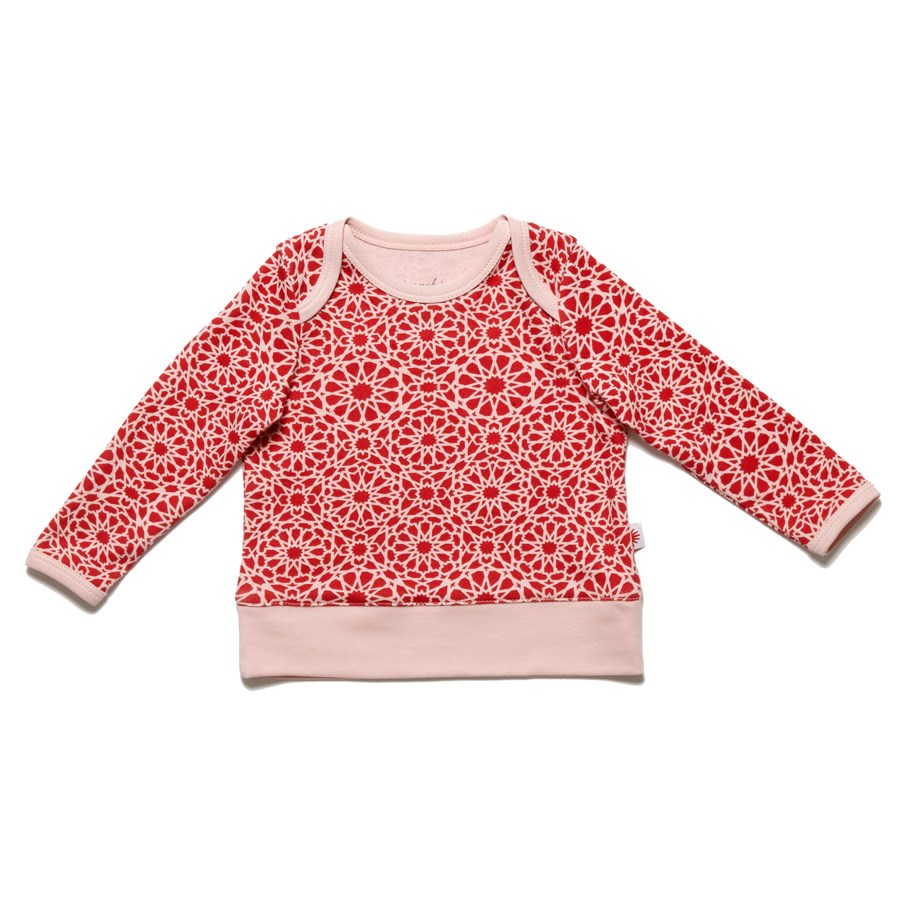 Organic Patterned Baby Tee