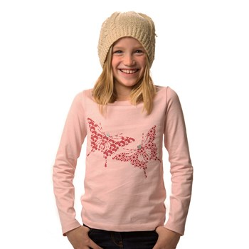 Organic Butterfly Long-sleeved Top
