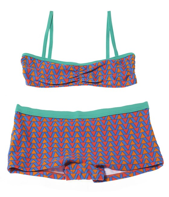 Rockley Cove UPF50+ Geometric Shorts Bikini