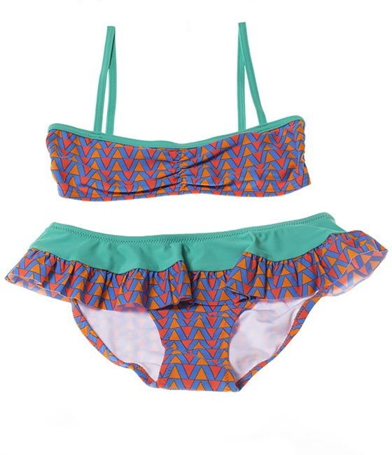 Rockley Cove UPF50+ Geometric Skirt Bikini